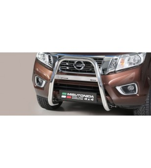 Navara NP 300 16- High Medium Bar Inox - MA/400/IX - Bullbar / Lightbar / Bumperbar - Verstralershop