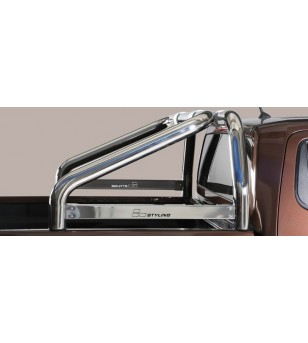 Navara NP 30016-,  Roll Bar Mark on Tonneau Inox (2 pipes version) - RLSS/K/2400/IX - Rollbars / Sportsbars - Verstralershop