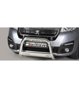 Partner 16- EC Approved Medium Bar Inox - EC/MED/404/IX - Bullbar / Lightbar / Bumperbar - Unspecified - Verstralershop