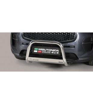 Sportage 16- EC Approved Medium Bar Inox - EC/MED/403/IX - Bullbar / Lightbar / Bumperbar - Unspecified