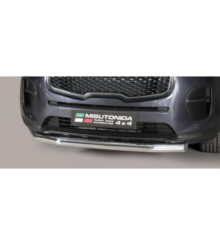 Sportage 16- Slash Bar Inox - SLF/275/IX - Bullbar / Lightbar / Bumperbar - Unspecified