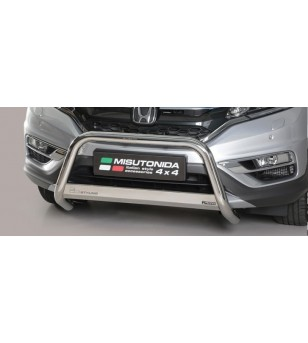 CR-V 16- EC Approved Medium Bar Inox - EC/MED/405/IX - Bullbar / Lightbar / Bumperbar - Unspecified