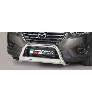 CX-5 15- EC Approved Medium Bar Inox - EC/MED/310/IX - Bullbar / Lightbar / Bumperbar - Verstralershop