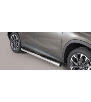 CX-5 15- Grand Pedana (Side Bars with steps) Inox - GP/310/IX - Sidebar / Sidestep - Verstralershop