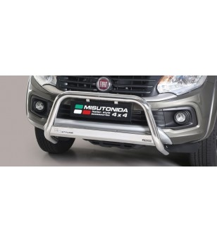 Fullback D.C. 16- EC Approved Medium Bar Inox - EC/MED/406/IX - Bullbar / Lightbar / Bumperbar - Unspecified