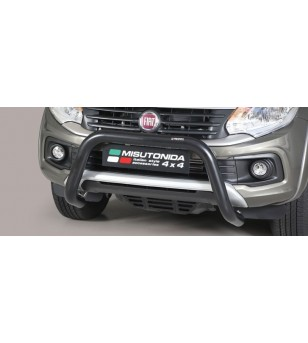 Fullback D.C. 16- EC Approved Super Bar Inox Black Coated - EC/SB/406/PL - Bullbar / Lightbar / Bumperbar - Unspecified