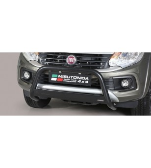 Fullback D.C. 16- EC Approved Medium Bar Black Coated - EC/MED/406/PL - Bullbar / Lightbar / Bumperbar - Unspecified