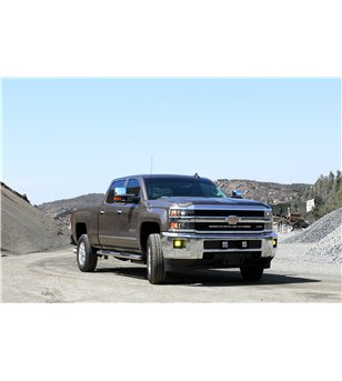 Baja Designs Silverado (HD) 14-17 30'' Onx6/S8 Grille Mount Kit