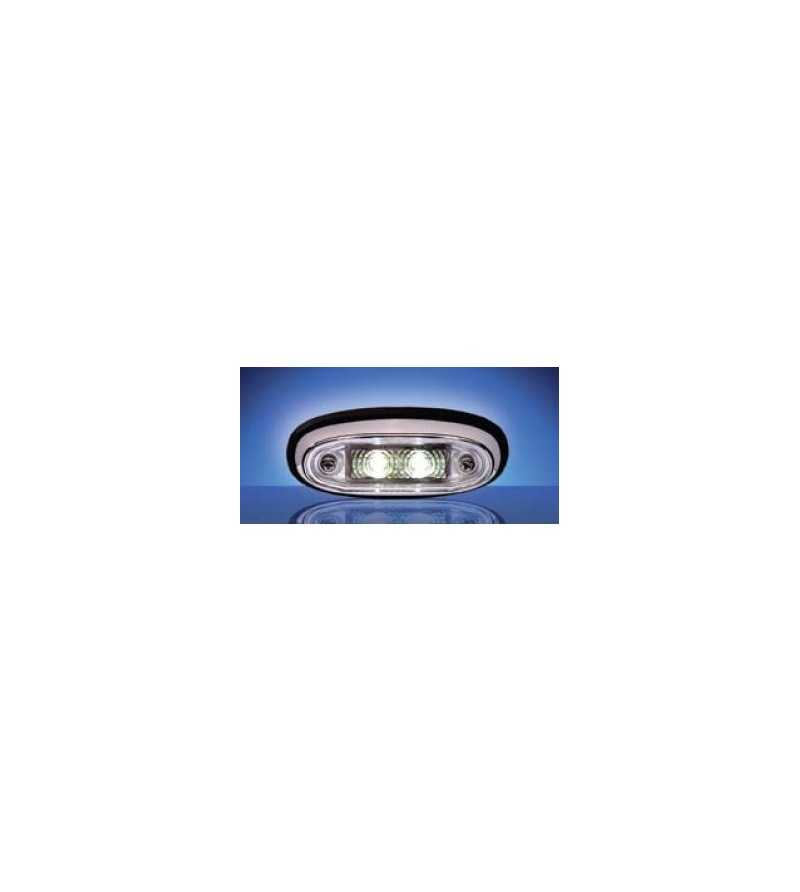 3105 - LED Markeringslamp Chroom Blank