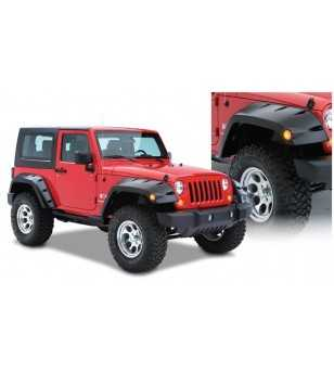 Jeep Wrangler JK 2007- Pocket Style Fender Flares 11.75 inch tire coverage - Front fenders