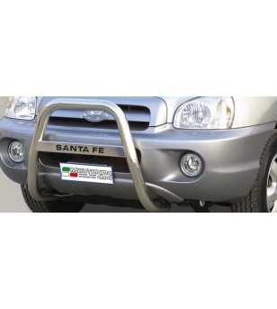 Hyundai Santa Fe 2000-2004 High Medium Bar inscripted - MA/K/111/IX - Bullbar / Lightbar / Bumperbar - Unspecified