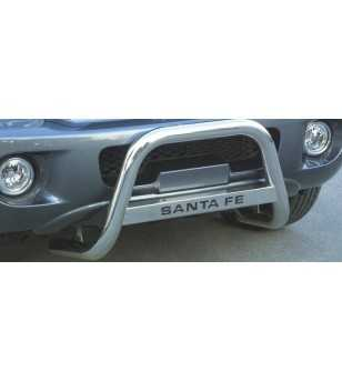 Hyundai Santa Fe 2005-2006 Medium Bar inscripted - MED/K/111/IX - Bullbar / Lightbar / Bumperbar - Unspecified