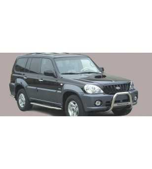 Hyundai Terracan 2000-2004 Medium Bar inscripted - MED/K/118/IX - Bullbar / Lightbar / Bumperbar - Unspecified