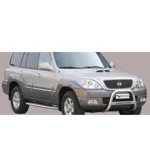 Hyundai Terracan 2004- Medium Bar inscripted - MED/K/154/IX - Bullbar / Lightbar / Bumperbar - Unspecified