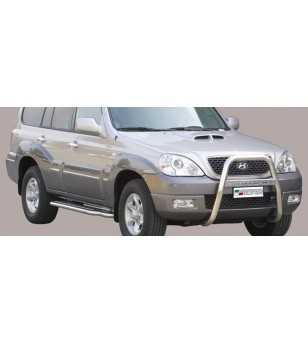 Hyundai Terracan 2004- High Medium Bar inscripted - MA/K/154/IX - Bullbar / Lightbar / Bumperbar - Unspecified