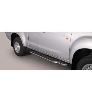 Isuzu D-Max 2012- Space Cab Side Steps - P/331/IX - Sidebar / Sidestep - Unspecified