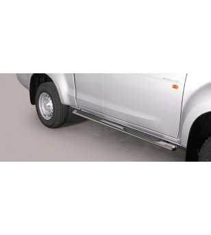 Isuzu D-Max 2012- Space Cab Oval Grand Pedana - GPO/331/IX - Sidebar / Sidestep - Unspecified