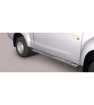 Isuzu D-Max 2012- Space Cab Design Side Protection - DSP/331/IX - Sidebar / Sidestep - Unspecified