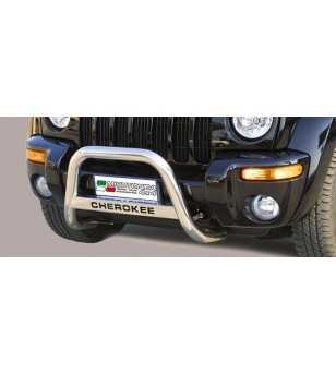 Jeep Cherokee 2001-2007 Medium Bar inscripted - MED/K/130/IX - Bullbar / Lightbar / Bumperbar - Unspecified