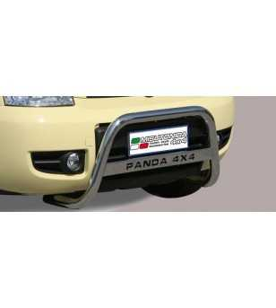 Fiat Panda 4x4 2005- Small Bar inscripted - SMALL/K/163/IX - Bullbar / Lightbar / Bumperbar - Unspecified - Verstralershop