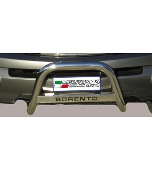 Kia Sorento 2002-2006 Medium Bar inscripted - MED/K/136/IX - Bullbar / Lightbar / Bumperbar - Unspecified
