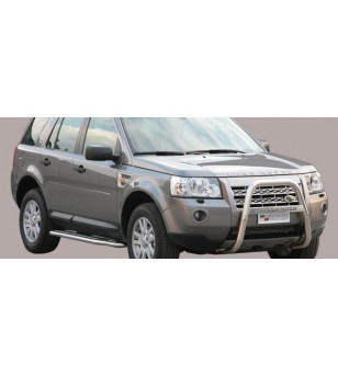 Land Rover Freelander 2008- High Medium Bar inscripted - MA/K/227/IX - Bullbar / Lightbar / Bumperbar - Unspecified