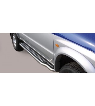Mazda B2500 2003-2006 Side Steps - P/141/IX - Sidebar / Sidestep - Unspecified