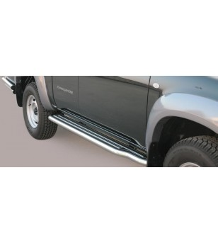 Mazda B2500 2006-2009 Freestyle Side Steps - P/195/IX - Sidebar / Sidestep - Unspecified