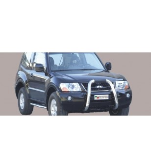 Mitsubishi Pajero 2.5/3.2TDI 2003 Big Bar - BIG/1400/IX - Bullbar / Lightbar / Bumperbar - Unspecified