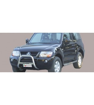 Mitsubishi Pajero 2.5/3.2TDI 2003 Medium Bar inscripted - MED/K/140/IX - Bullbar / Lightbar / Bumperbar - Unspecified