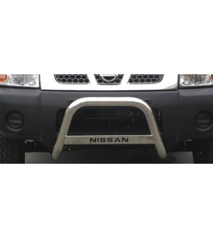 Nissan King Cab 2002-2005 Medium Bar inscripted - MED/K/132/IX - Bullbar / Lightbar / Bumperbar - Unspecified