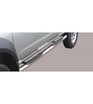 Nissan King Cab 2002-2005 Double Cab Grand Pedana - GP/132/IX - Sidebar / Sidestep - Unspecified