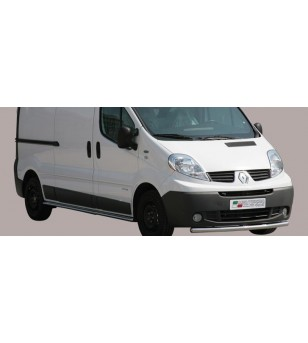 Renault Trafic 2007- Large Bar - LARGE/251/IX - Bullbar / Lightbar / Bumperbar - Unspecified