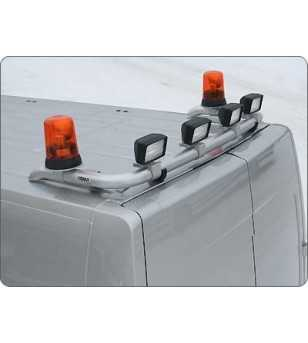 Movano 10- T-Rack H2 rear - TB90040 - Roofbar / Roofrails - QPAX T-Rack