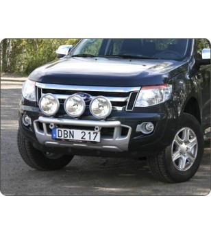 Ford Ranger 2012- Q-Light/3 lightbar - Q900217 - Bullbar / Lightbar / Bumperbar - QPAX Q-Light