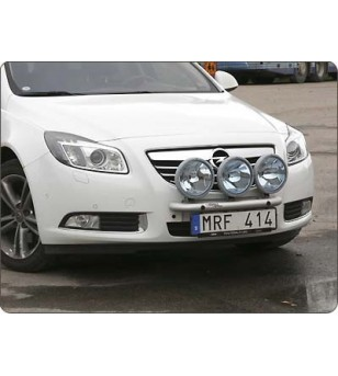 Opel Insignia 2008- Q-Light/3 lightbar - Q900214 - Bullbar / Lightbar / Bumperbar - QPAX Q-Light