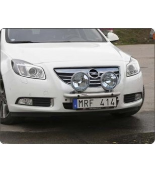 Opel Insignia 2008- Q-Light/2 lightbar - Q900215 - Bullbar / Lightbar / Bumperbar - QPAX Q-Light