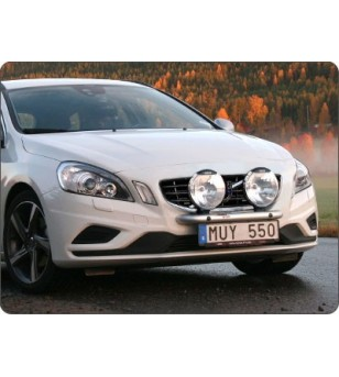 Volvo S60 2011- Q-Light/2 lightbar - Q900219 - Bullbar / Lightbar / Bumperbar - QPAX Q-Light