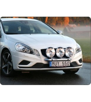 Volvo V60 2011- Q-Light/3 lightbar - Q900218 - Bullbar / Lightbar / Bumperbar - QPAX Q-Light