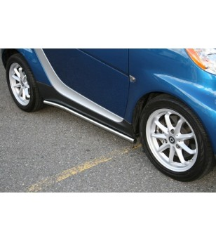 Smart Fortwo 2008-2012 rvs siderails - 502504 - Sidebar / Sidestep - Unspecified