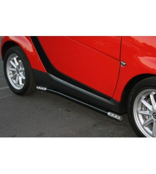 Smart Fortwo 2008-2012 black siderails - B502504 - Sidebar / Sidestep - Unspecified