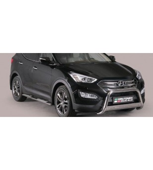 Hyundai Santa Fe 2012- Medium Bar inscripted EU - EC/MED/K/333/IX - Bullbar / Lightbar / Bumperbar - Verstralershop