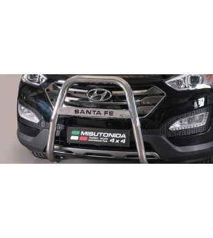 Hyundai Santa Fe 2012- High Medium Bar inscripted - MA/K/333/IX - Bullbar / Lightbar / Bumperbar - Unspecified