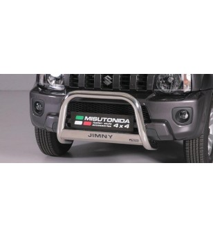 Suzuki Jimny 2012- Medium Bar inscripted EU - EC/MED/K/335/IX - Bullbar / Lightbar / Bumperbar - Unspecified