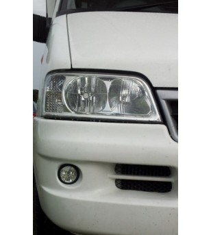 Fiat Ducato 2002-2006 Day Time Running Light Kit Round - LR002 - Lighting - Unspecified
