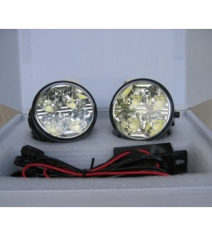 Day Time Running Light Kit Universeel Round 70 - LR020 - Verlichting - Unspecified