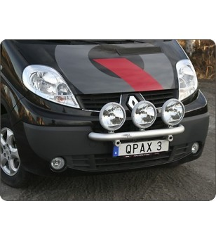 Renault Trafic 2002- Q-Light/3 lightbar - Q900221 - Bullbar / Lightbar / Bumperbar - QPAX Q-Light