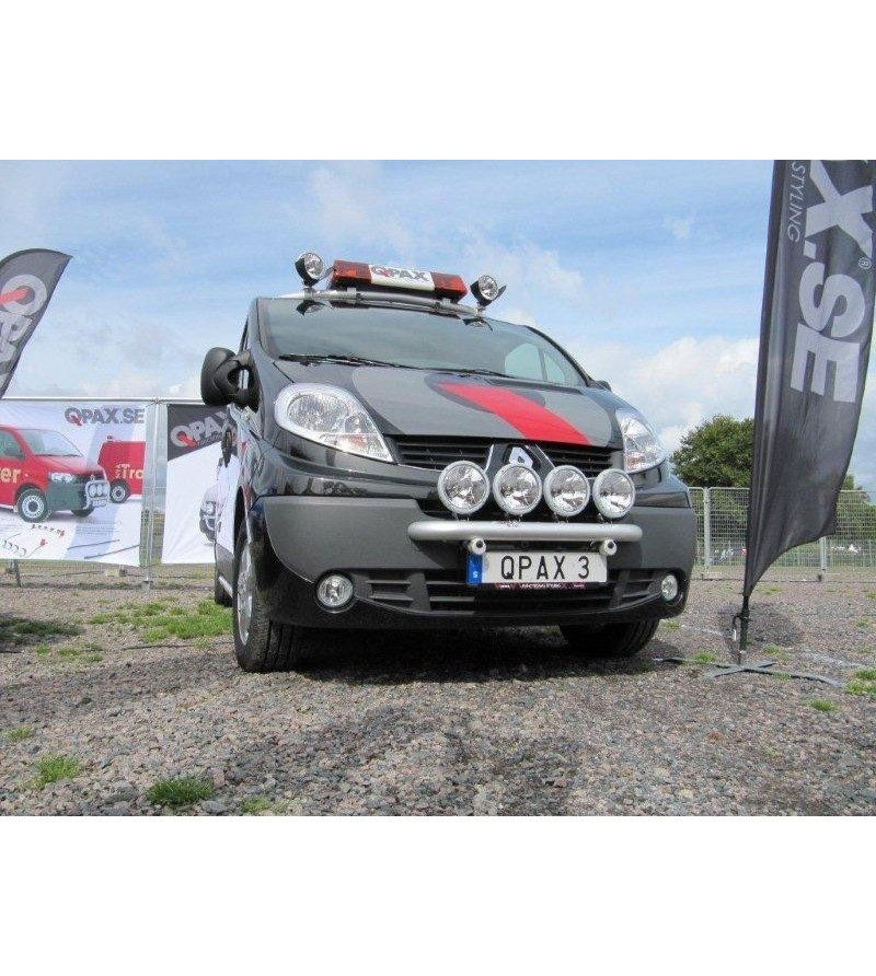 Renault Trafic 2002- Q-Light/2 lightbar - Q900221-24 - Bullbar / Lightbar / Bumperbar - QPAX Q-Light - Verstralershop