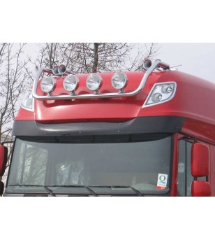 DAF 105XF 06 to 14 LAMP HOLDER ROOF Superspace 4x lamp fixings pcs - 850170 - Roofbar / Roofrails - Metec Truck
