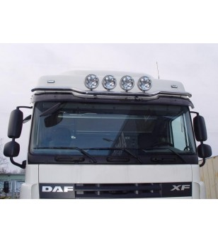 DAF 105XF 06 to 14 LAMP HOLDER ROOF Low 4x lamp fixings pcs - 850190 - Roofbar / Roofrails - Metec Truck